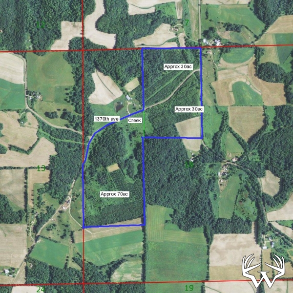 Weiss Realty - 70 Acres Dunn County - SOLD! on